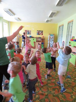 Den dětí (zelená třída)