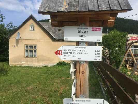 Zájezd Strážovské vrchy Vláďa Gromotovič