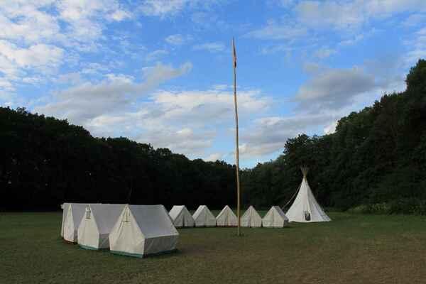 Tábor Starojická Lhota 2017 - slibový oheň