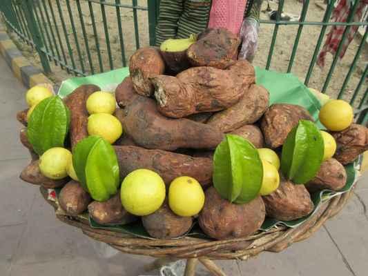 Pečené brambory.