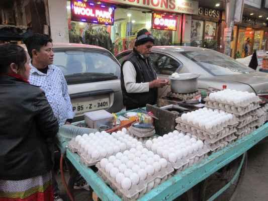 Indové mají rádi vejce na tvrdo.