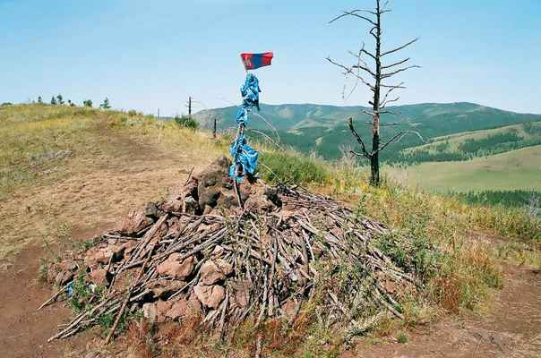 Typické mongolské ovó
