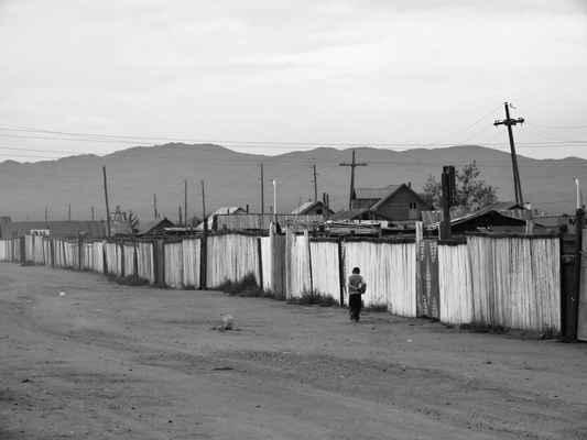 postranní ulička v Murunu