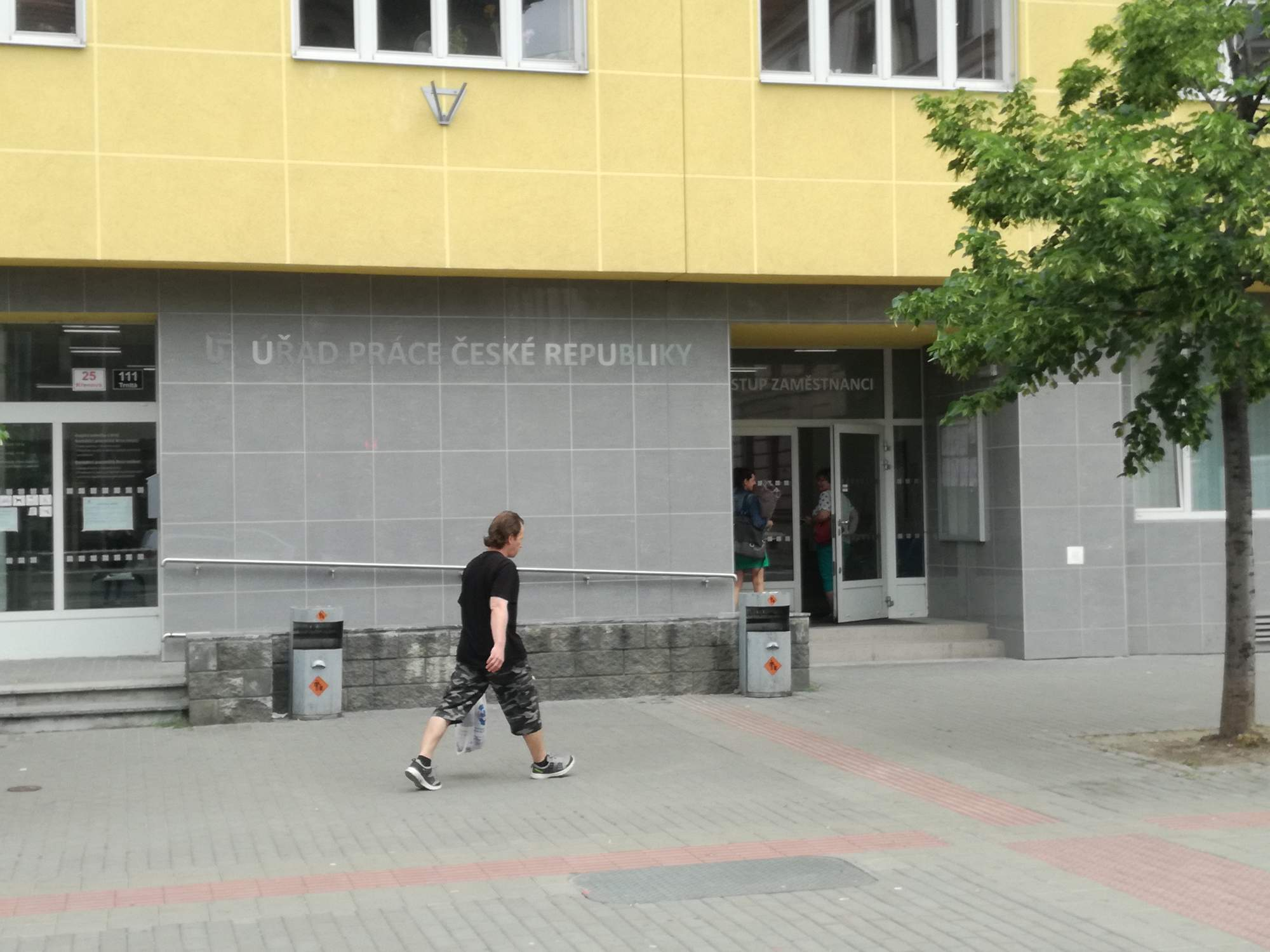 Úřad práce v Brně, foto: Sára Suchá
