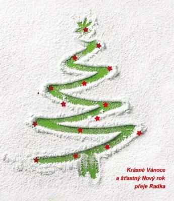 Krásné Vánoce a šťastný Nový rok.