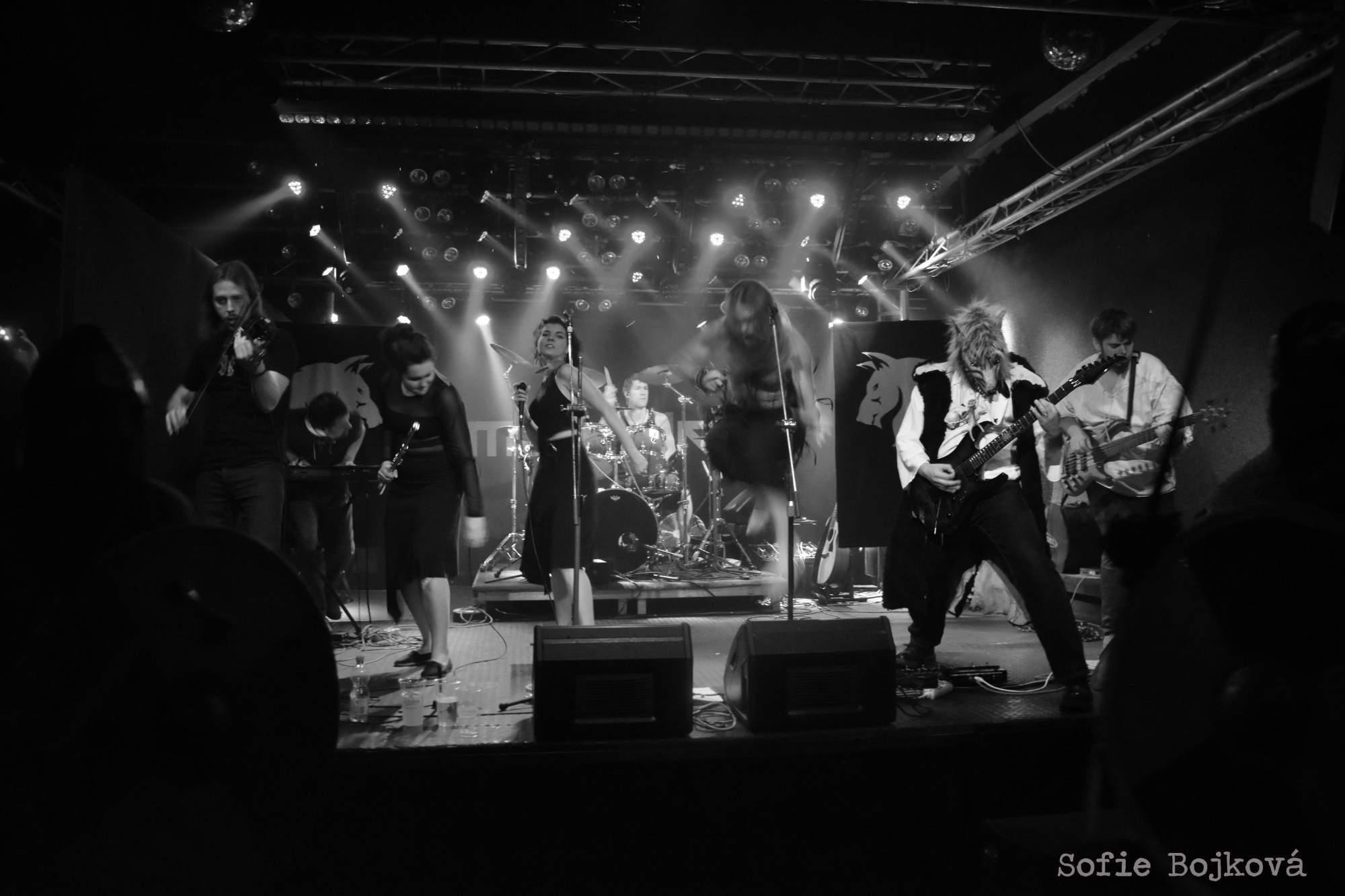 Koncert kapely Wolfarian v Brně
