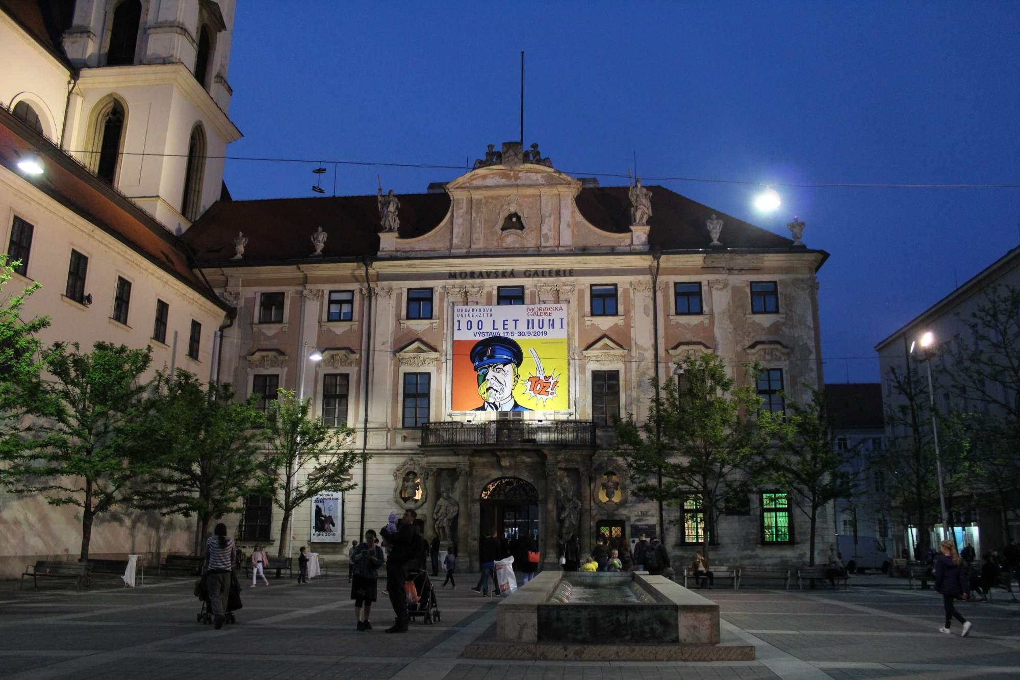 Moravské náměstí - Místodržitelský palác