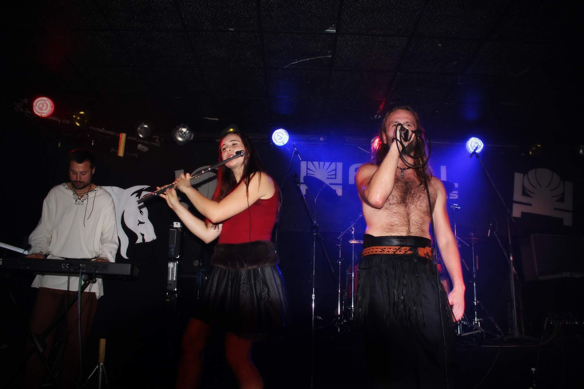 Koncert kapely Wolfarian v Praze