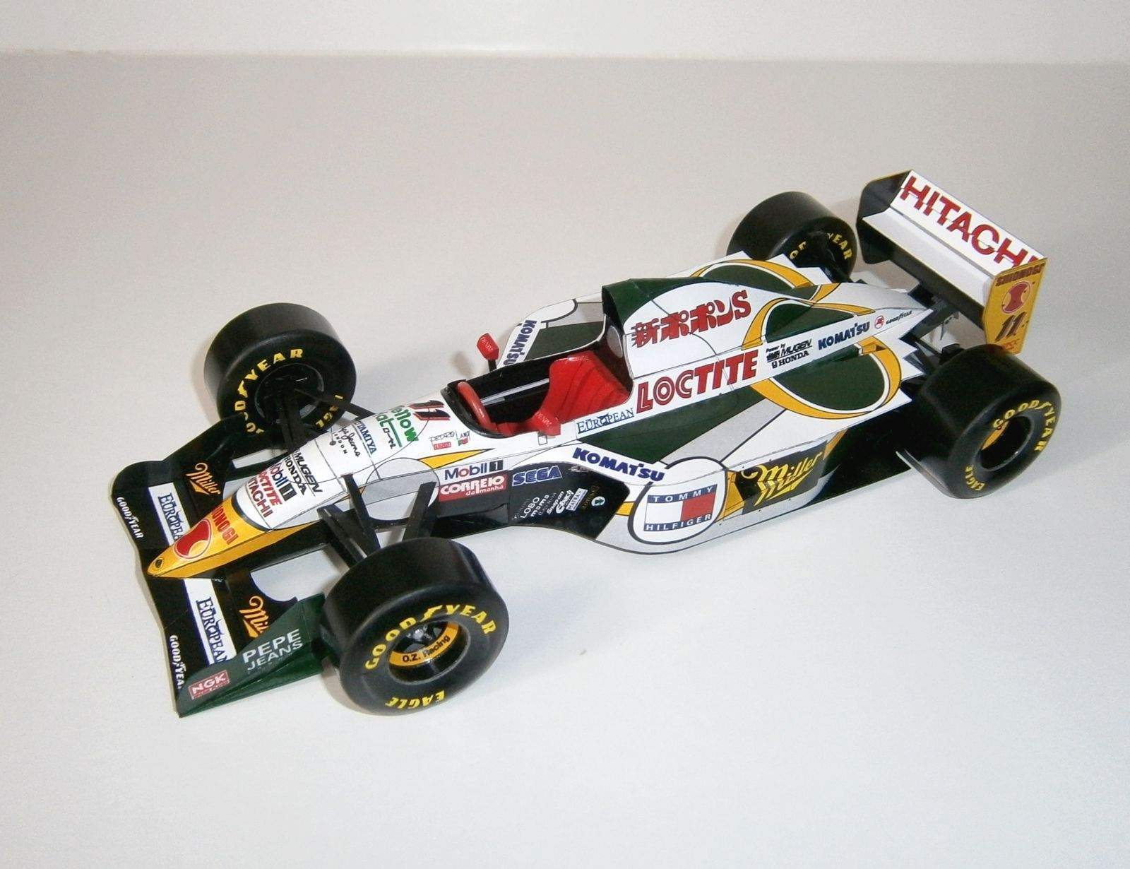 Lotus 107C - P.Lamy, GP Aida-Pacific 1994