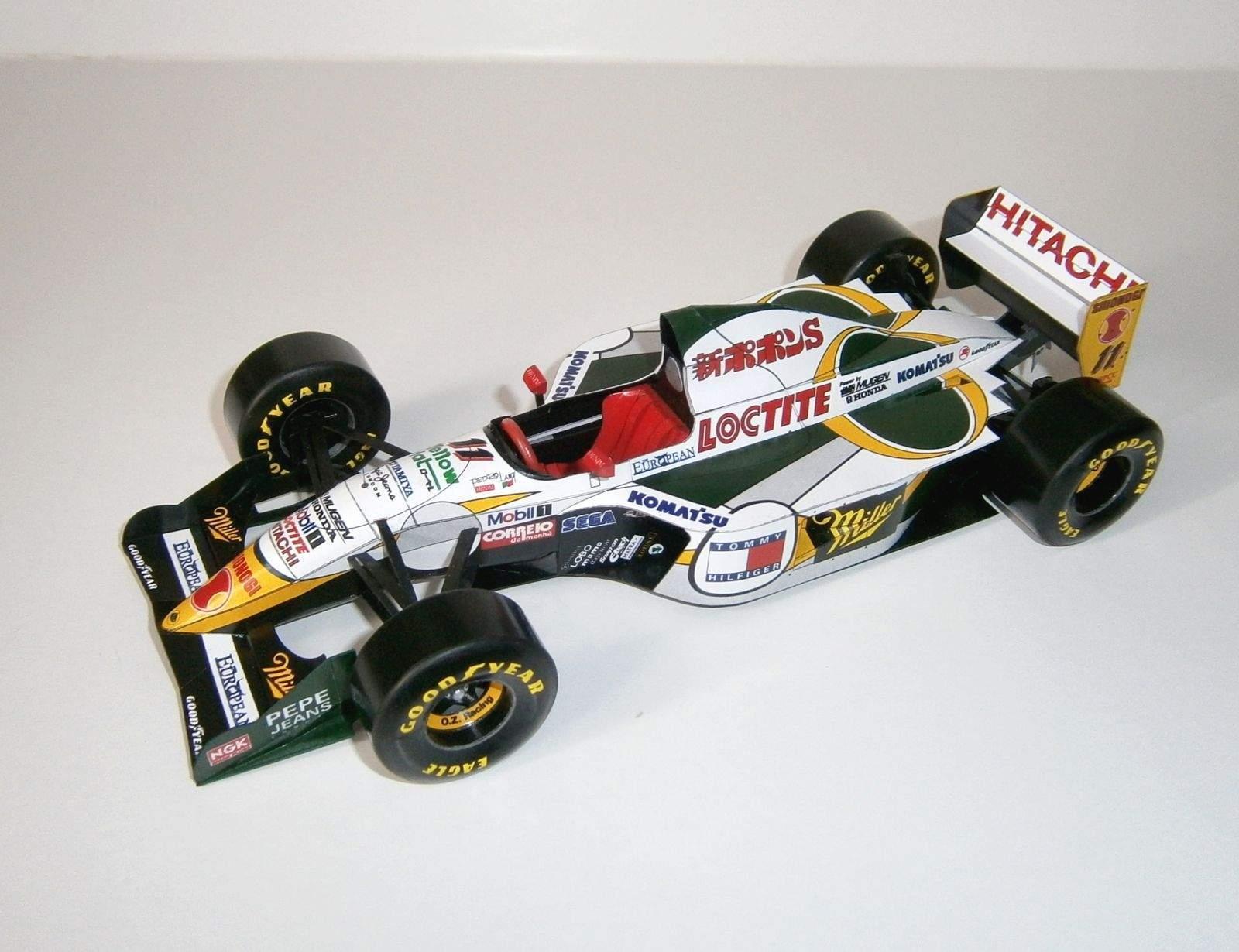 Lotus 107C - P.Lamy, GP Aida-Pacific 1994