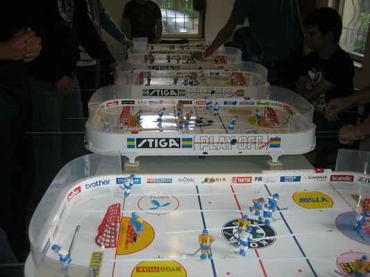Benátky 005 - Do malé místnůstky se vešlo jen pět hracích stolů