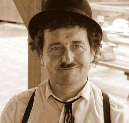 Charlie Chaplin - hrdina němé grotesky na Vaší akci, cena dle dohody