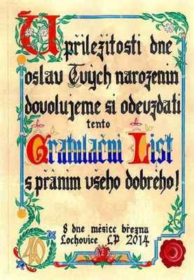 Písař - kaligrafista - cena od 2000,-/den (možnost dílničky pro děti) + dopravné 6,-/km z Prahy nebo Kamenného Mostu
